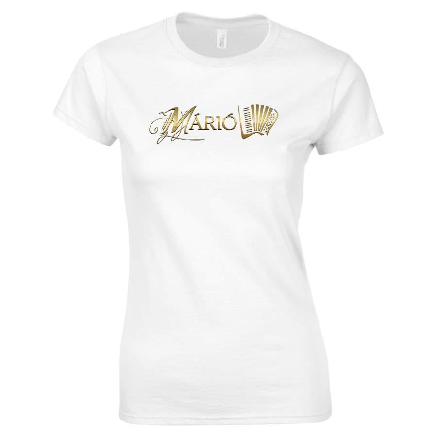 Márió - Márió póló női fehér