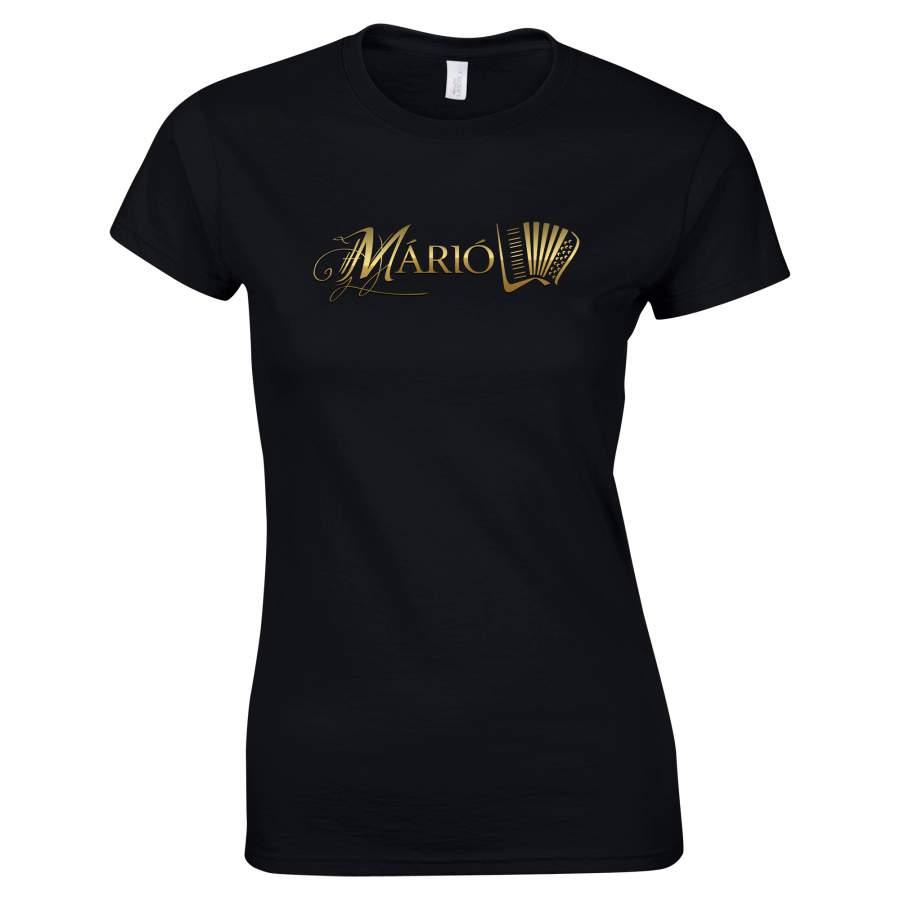 Márió - Márió póló női fekete