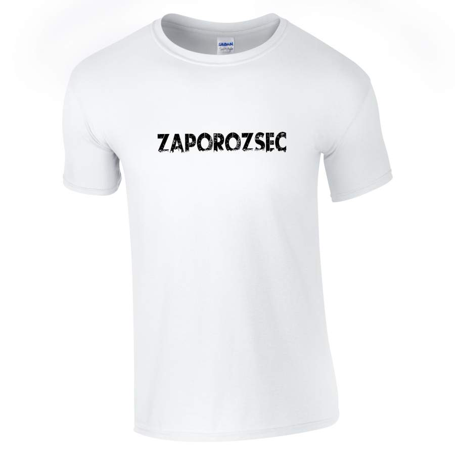 Zaporozsec - Zaporozsec póló férfi fehér