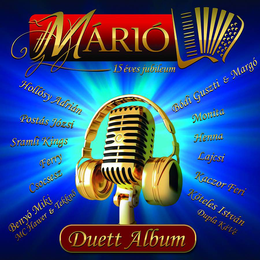 Márió - Duett album CD
