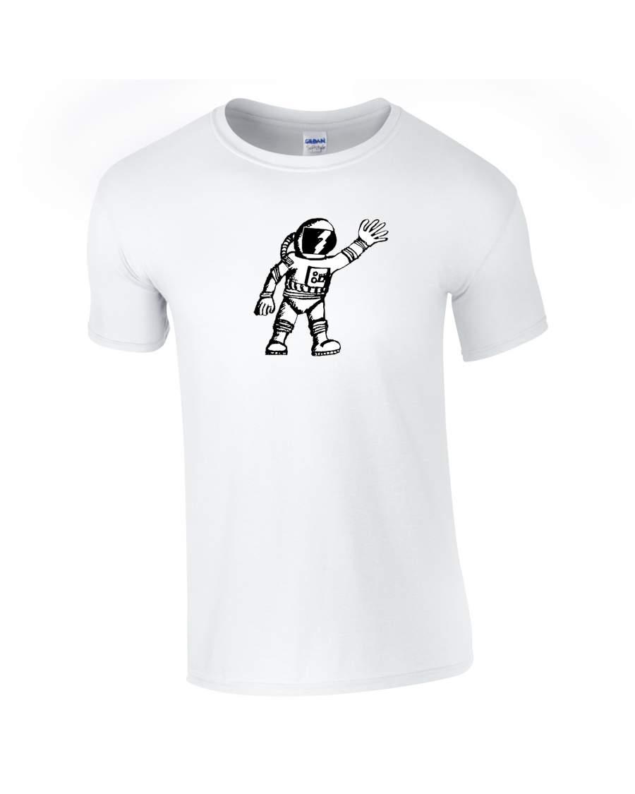 Zaporozsec - Űrhajós póló férfii fehér